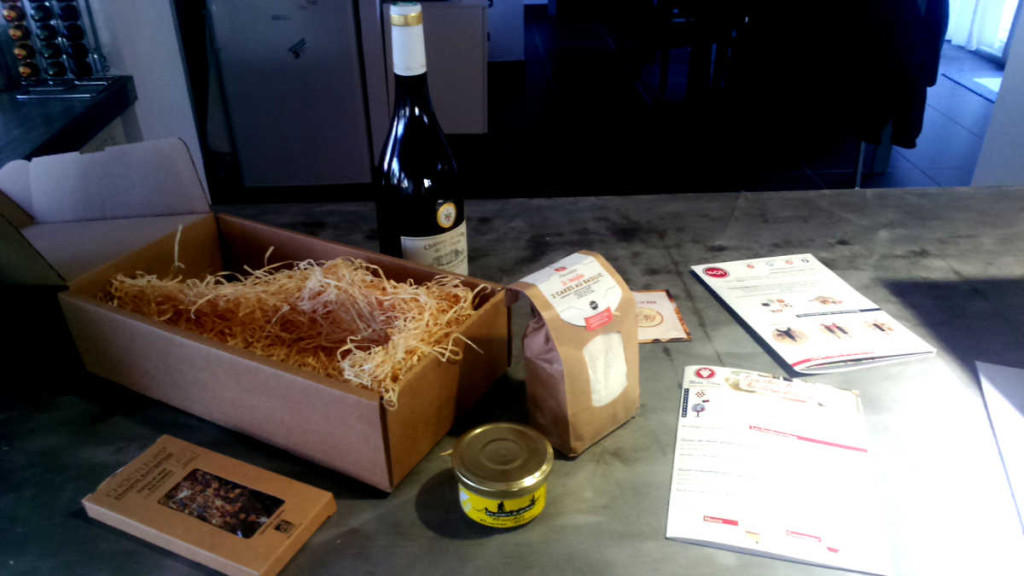 Le contenu de la BOX « terroir francais » metsvins.eu